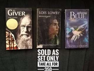Lois Lowry Books