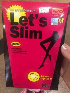 韓國 Let's slim 打底褲 200D