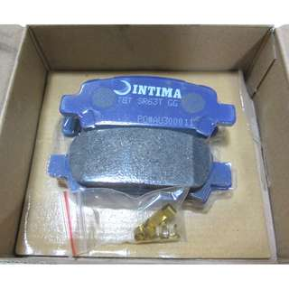Intima SR-6300 Rear Brake Pads For Subaru (IN1379-SR / MD-7042M) Sports Brake Pads