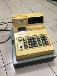 Old cashier machine