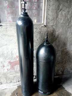 Acetylene and Oxygen Tank