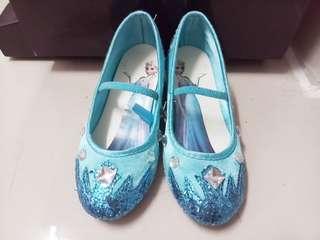女童愛莎公主鞋30一31碼