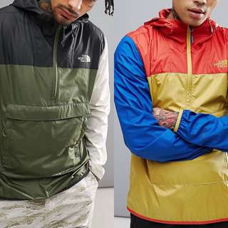 The North Face Fanorak Overhead Packable Jacket