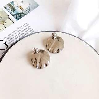 Korean Sliver earrings