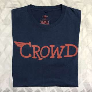 Crowd T-Shirt Graphic Logo