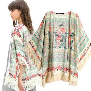 CLEARANCE | H&M Inspired Tribal Kimono