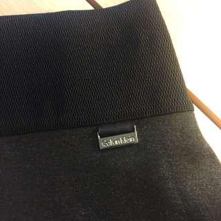 Calvin Klein Office Skirt (gartered waist)