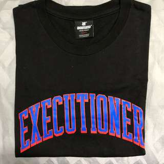 Black Executioner Undefeated Tee Graphic Logo