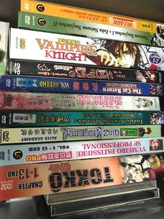 Anime DVD Original