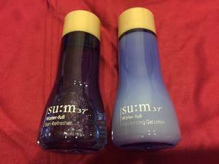 SU:M 37 Water-Full Skin Refresher & Rebalancing Gel Lotion