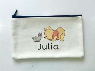 Customised Zip Pencil Case/ Pouch