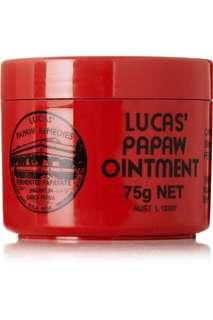 75gm LUCAS PAPAW OINTMENT ORIGINAL
