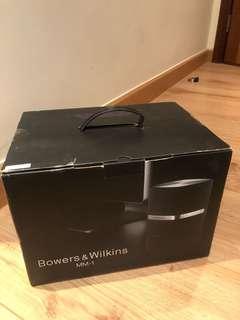 B&W MM-1 Speakers - Brand New In Box