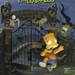 Simpsons comic book.