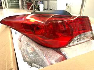 Hyundai Elantra Headlights + Tail Lamps 2012 - 2015