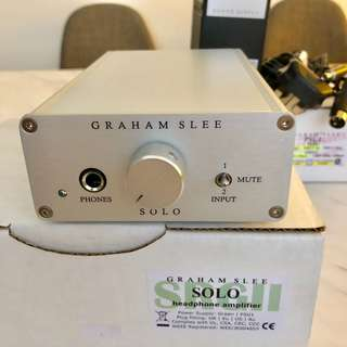 Graham Slee Solo SRGII Headphone Amplifier with PSU