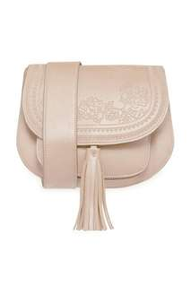 Embossed sling bag