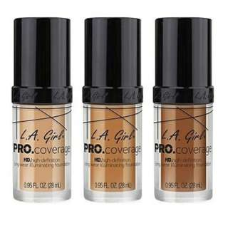 LA GIRL HD Pro Coverage Illuminating Foundation