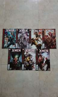 "X-Men Vol 3 (Marvel Comics 7 Issues, #1 to 6, plus free intro issue Saga; complete story arc on ""Curse of the Mutants"")"