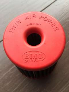 BMC twin power air filter - open pod