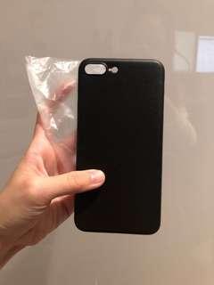 iPhone 7plus/8plus black phone case