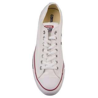 Converse all star ox optical white sneaker