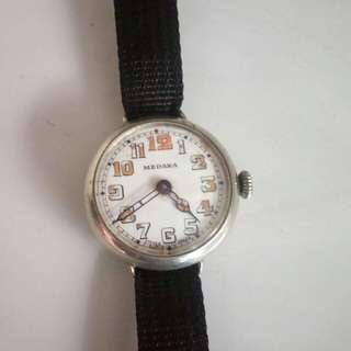 軍錶一戰-MEDANA戰壕上鏈錶