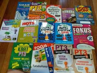 PT3 / SPM buku , Books for Bahasa Melayu