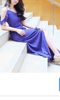 Flowy long dress