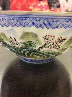 Vintage antique bowl