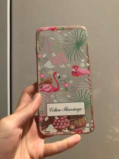 iPhone 7plus/8plus baby pink flamingo phone case