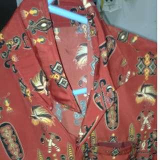 Batik Papua Merah