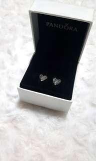 Pandora Winter Hearts Earrings
