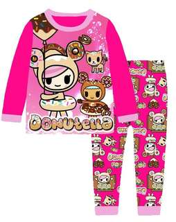 Donutella 2-7 yrs old pajamas
