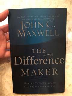 John C Maxwell The Difference Maker