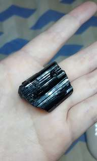 Black Tourmaline Gemstone raw rough natural