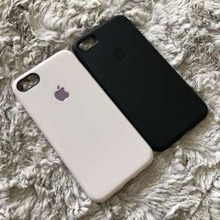SILIICON CASE with APPLE LOGO IPHONE 7/8