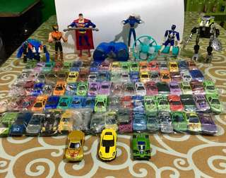 Toy Cars, Superhero Figures etc RUSH SALE