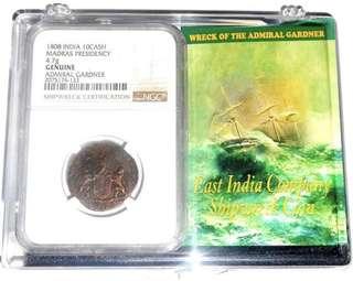 Shipwreck coin 1808 NGC certified