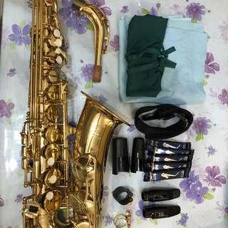 新淨Yamaha YAS-275 + AL3 & yamaha 5C吹咀 + 皮箍&金屬箍 連黑色箱,送5片新簧片