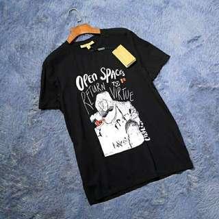 Burberry  18春夏新款男士T恤!黑色  白色  灰色  深蓝  S-XXL
