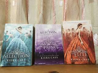 (Brand New) The Selection, The Elite, and The Prince Book Set