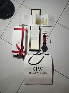 Daniel Wellington Classic Black St Mawes RoseGold
