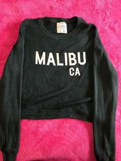 Pull & bear cropped pullover