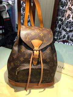 Louis Vuitton Classic Monogram Canvas Montsouris MM Backpack