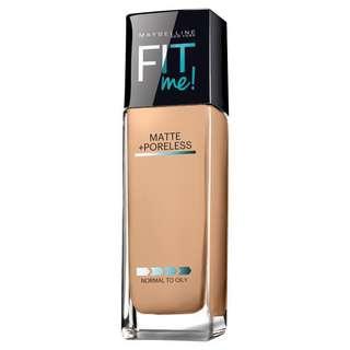 Maybelline FIT ME! Matte + Poreless Foundation in 220 Natural Beige