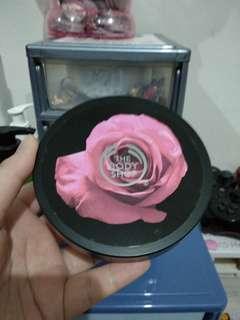 The body shop british rose body cream