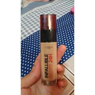 Loreal stay fresh foundation