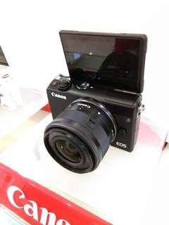 Bunga 0% Canon M100 EF 15-45 DP 0% Kredit Tanpa Kartu Kredit