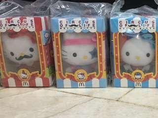 [1set=7pcs] McDonald's Hello Kitty